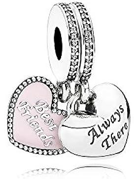 Pandora Best Friends Herzbead Pink 791950CZ