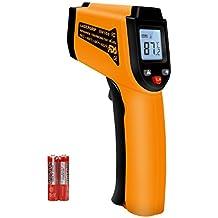 Termometro Infrarrojos laser - AUELEK Profesional Medidor IR Digital sin Contacto, -50℃ ~