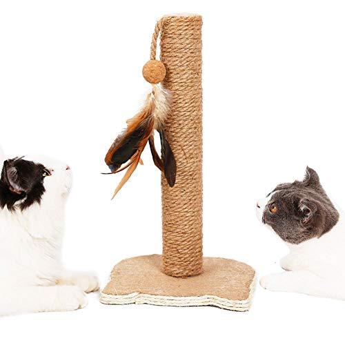 ZZX Kratzsäule - Sisal Haustier-Stock-Spielzeug Kratzbaum Turm Kitty Möbel Aktivitätszentrum für das Spielen entspannen Sich und schlafen Höhe 36 cm - Stöcke Möbel
