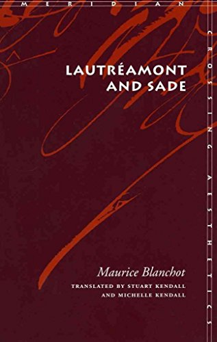 [Lautreamont and Sade] (By: Maurice Blanchot) [published: July, 2004]