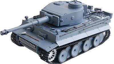 "RC Panzer ""German Tiger I"" Heng Long 1:16 Grau, Rauch&Sound von Heng Long"