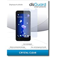 disGuard [2 Pack] HTC U11 Screen Protector Film [Crystal Clear] Invisible, Transparent, Clear/Scratch Resistant, Bubble-Free Install, Anti-Fingerprint, Anti-Scratch/Film, Protector Film, Screen Guard