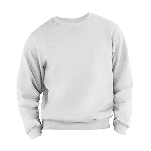 Fruit of the Loom Herren 62-202-0 Sweatshirt, Weiß, S