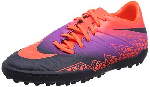 Nike 749899-845, Scarpe da Calcetto Uomo Multicolore (Total Crimson/obsidian-vivid Purple)