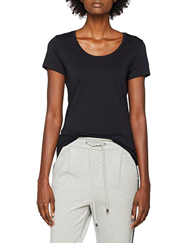 BOSS Damen Tifame Top, Schwarz (Black 001), Large