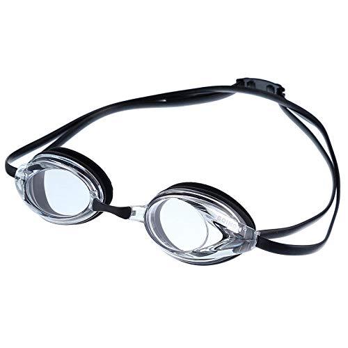 TNIEG Schutzbrillen - Erwachsene Männer und Frauen Wettkampftraining/Schwimmen/Tauchen Wasserdicht Anti-Fog Hd Langlebige einstellbare Schutzbrille, D