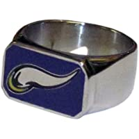Siskiyou NFL Minnesota Vikings Stahl Flaschenöffner, Ring Größe 10