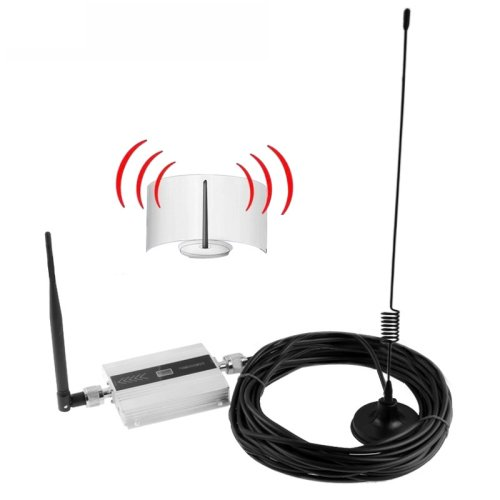 DIGITAL HD Verstärker Repeater GSM 900 Cellular Phone Signal Repeater Booster + Antenna (55dB) Cellular Signal Booster