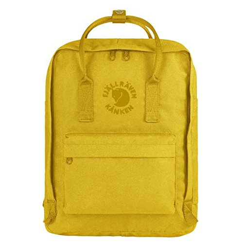 Fjällräven Re-Kanken Rucksack, Sunflower Yellow, 38 x 27 x 13 cm, 16 L