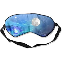 Glow Stars Moon Night Flowers Space Mountains Sky Blue 99% Eyeshade Blinders Sleeping Eye Patch Eye Mask Blindfold... preisvergleich bei billige-tabletten.eu