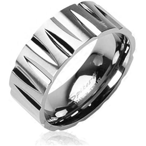 Paula & Fritz Titan anello argento Tribal Sfaccettato disponibile anello misure 47 (15) - 72 (23) R-TI-0321
