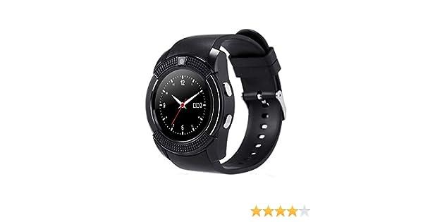 Montre Connectée Compatible avec Huawei P20 Lite, CEKA TECH® Montres Connectée Bluetooth Smart Watch avec Caméra Écran Incurvé Tactile Support SIM/TF Card: ...