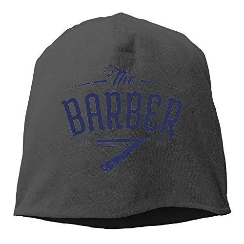 Wdskbg Top Level Beanie Hat Men Women Knit Hat Barber Cotton Skull Cap (Spike Herren Beanie)