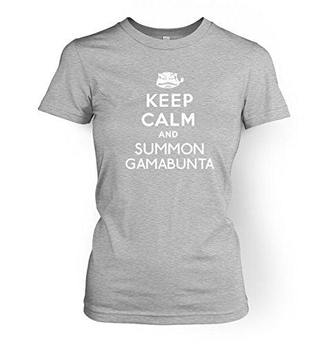 Keep Calm and Summon Gamabunta WoHerren T-Shirt Sport Grau
