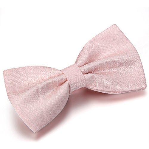 jewelrywe-accessoires-cravate-noeud-papillon-faconnee-uni-polyester-couleur-rose-homme