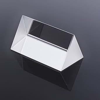 Optisches Glas Dreibettzimmer Dreiecksprisma Physics Teaching Lichtspektrum