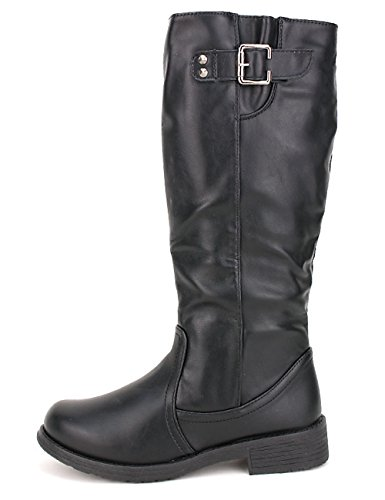 Chaussures CINKA noire Femme Noir Cendriyon Botte MODA aUxqExFwI