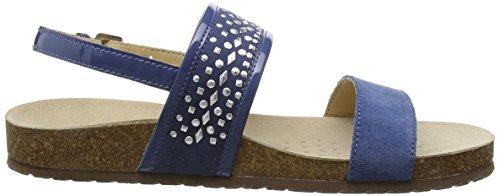 Geox - D Zayna B, Sandales Bleues Pour Femmes (blau (denimc4008))