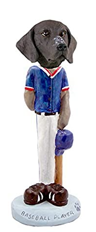German Short Haired Pointer Baseball Doogie Collectable Figurine by