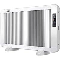 MEI XU Calentadores eléctricos Calentador - Calentador de Panel eléctrico Calentador de convector Plano de Vidrio