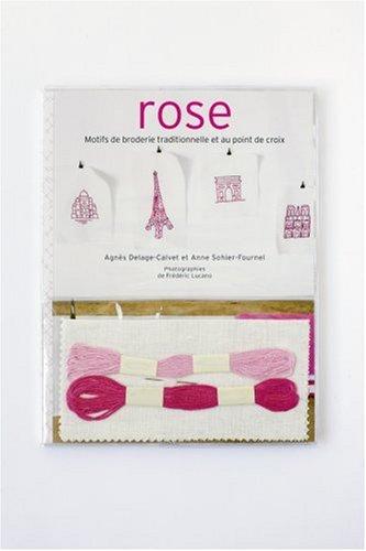 rose-motifs-de-broderie-traditionnelle-et-au-point-de-croix