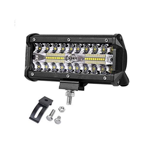 Garten-licht-satz (Unbekannt SCH 7 Zoll 120 watt LED arbeitslichtleiste Combo strahl Auto fahrlicht for Geländewagen 4WD 4x4 UAZ Motorrad Rampe 12 V 24 V Auto nebelscheinwerfer)
