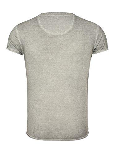 Key Largo -  T-shirt - Uomo Grigio