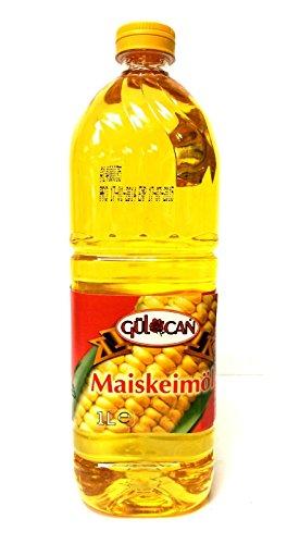 Gülcan Maiskeimöl Maisöl Corn Oil Misir Yagi 1 Liter