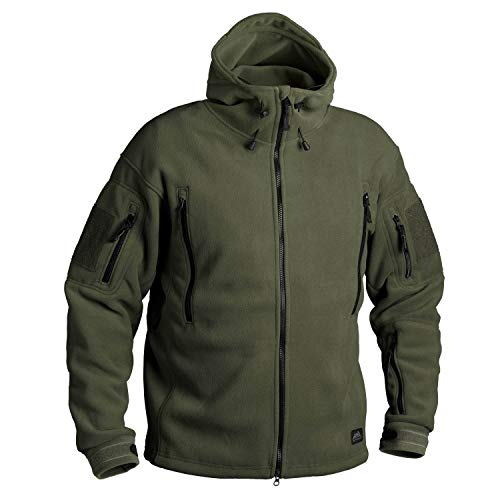 Helikon-Tex Patriot Jacke -Double Fleece- Olive Green, Oliv Grün, M