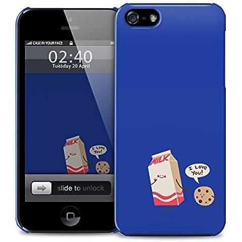carino latte biscotto amore iPhone 6 pi copertura in plastica della cassa del telefono di protezione (immagine mostra iPhone 5