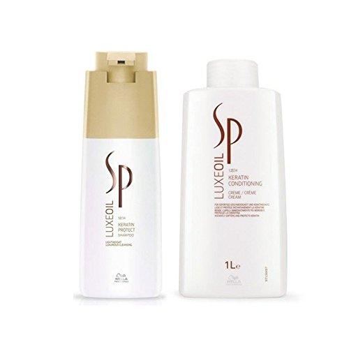 Wella SP Luxe Oil Keratin Shampoo 1000ml & Conditioner 1000ml