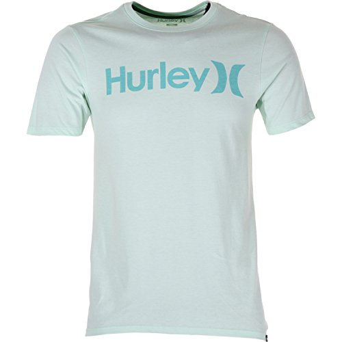 Hurley One Only-T-Shirt a maniche corte, motivo: a S, colore: verde