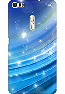 AMEZ designer printed 3d premium high quality back case cover for Asus Zenfone 3 Ultra ZU680KL (abstract sky bkue stars nature)