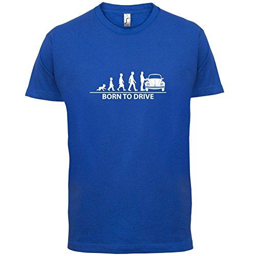 Born To Drive (Beetle) - Herren T-Shirt - 13 Farben Royalblau