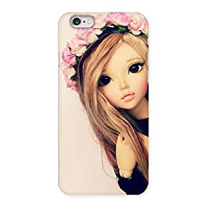 Gorgeous Pink Rose Doll Back Case Cover for iPhone 6 6S