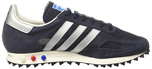adidas la Trainer Og, Sneakers Basses Homme, Bleu, 43 EU Multicolore (Legend Ink/Matte Silver/Night Navy)