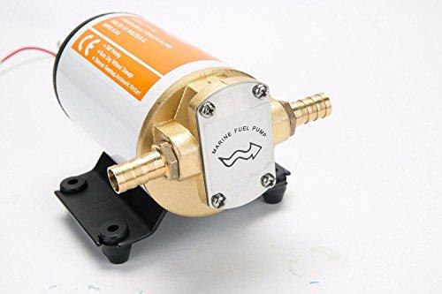 Seaflo 12V Aufzuspüren Flügelradpumpe Gear Pumpe für Wasser Diesel Fuel Aufzuspüren Öl Transfer (1 7-amp-1/2)