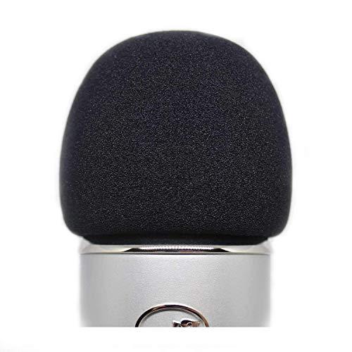 KOSTOO - Copertura per microfono in schiuma per microfono Blue Yeti, Yeti Pro e altri microfoni grandi, materiale spugnoso di qualità per agire come filtro pop per il tuo microfono