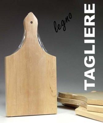 Vetrineinrete® Set 3 taglieri in legno per aperitivo vassoio ...