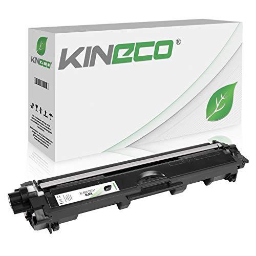 Kineco Toner kompatibel für Brother TN-241 TN241 für Brother MFC-9142CDN, Brother DCP-9022CDW, MFC-9342CDW, MFC-9332CDW, HL-3150CDW, HL-3170CDW - TN-241BK - Schwarz 2.500 Seiten (9340 Drucker Laser Brother)