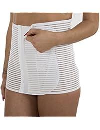 Premamy - Fascia Maternità Con Supporto Per Gravidanza - Colore: Bianco
