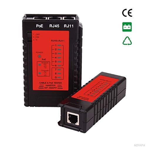 Sairis NF-468PF Kabeldurchgangsprüfer POE-Tester RJ11- und RJ45-Kabel prüfen Quick Detector Automatic Tester Auf Durchgang prüfen