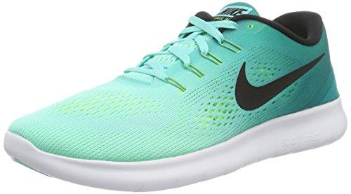 Nike Free Rn Scarpe Da Corsa, Uomo Multicolore (Hyper Turq/Black/Rio