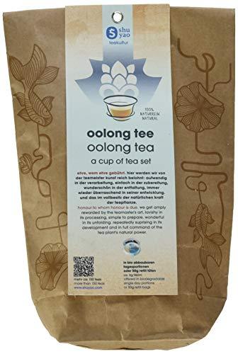 Shuyao Oolong Tee Set 15x exklusive Tee kompositionen - Geschenkidee für Teetrinker (45g)