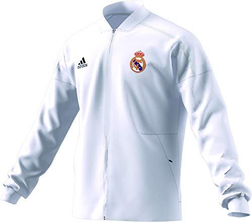 adidas Herren Real Madrid Anthem Jacket Jacke, core White, XL