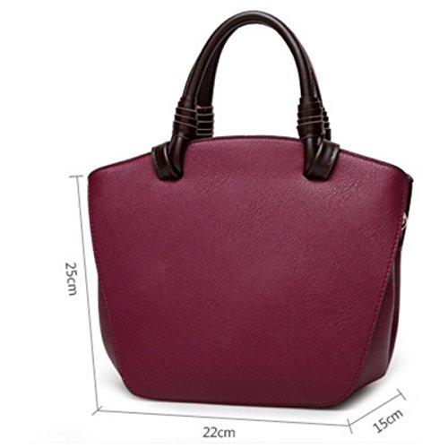 Moda Femminile Borsa Tendenza Borsa A Tracolla Borsa In Pelle Purple