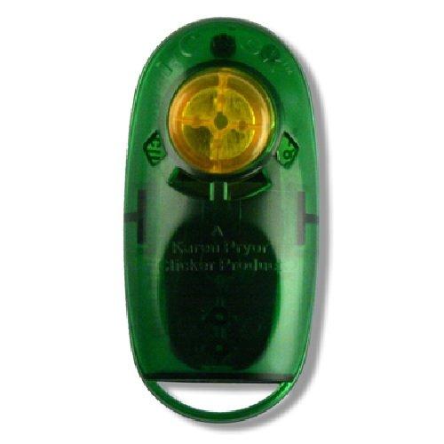 Jewel i-Click Karen Pryor Clicker Product Klicker Training (transluzent grün)