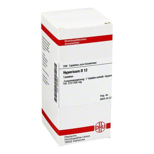 Hypericum D 12 Tabletten 200 stk