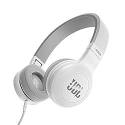 JBL E35 On-Ear Headphones (White)