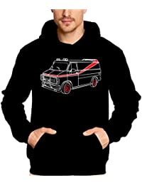 Coole-Fun-T-shirts A-Team Van - Sweat-shirt - Homme